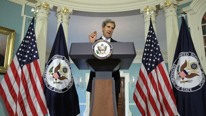 U.S. Secretary of State John Kerry (AFP Photo / Alex Wong)