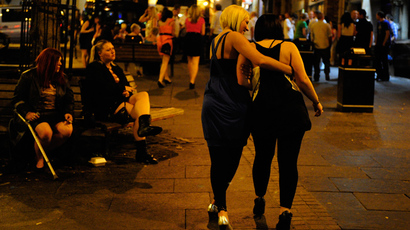 London to trial 'booze bracelets' to curb street violence