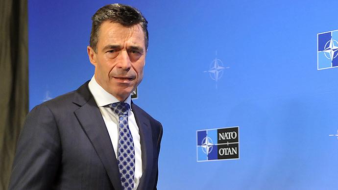 NATO Secretary General Anders Fogh Rasmussen (AFP Photo / Georges Gobet)