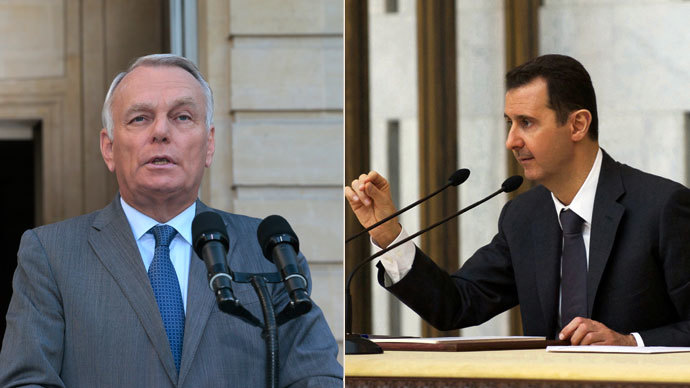 France accuses Syria of 3 chemical attacks, Assad slams Western logic