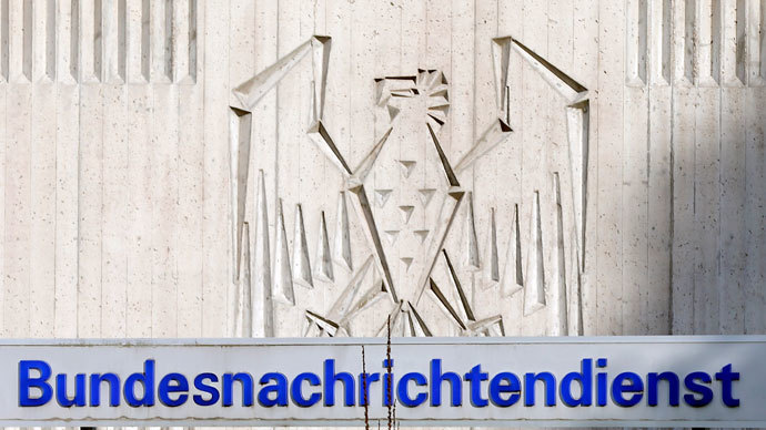 The main entrance of Germany's intelligence agency Bundesnachrichtendienst (BND) headquarters is pictured in Pullach.(Reuters / Michael Dalder)