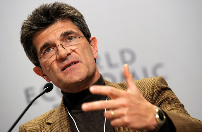 Swiss Bankers Association President Patrick Odier (AFP Photo / Fabrice Coffrini)
