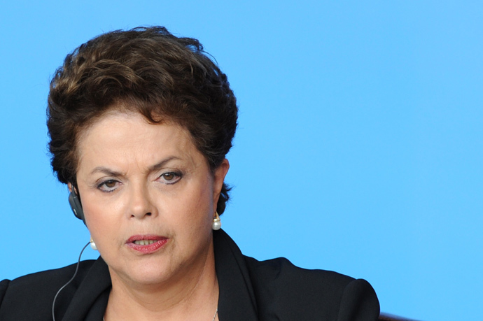 Dilma Rousseff (AFP Photo / Pool / Ed Jones)