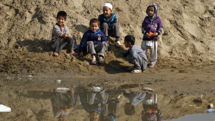 Afghan police arrested for killing 6 kids while trying to catch fish