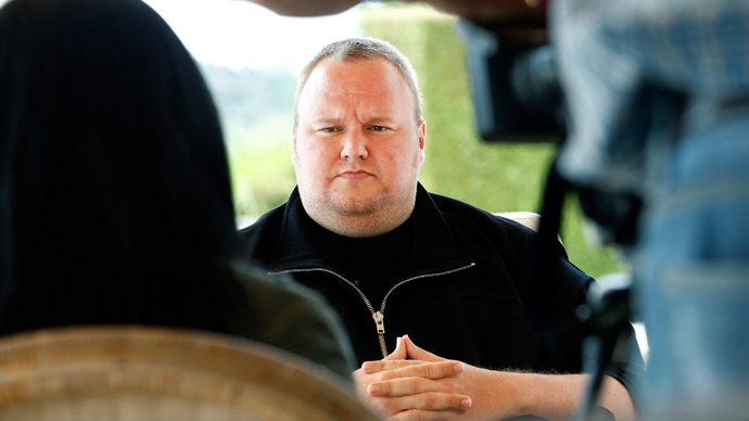 Kim Dotcom steps down as Mega director