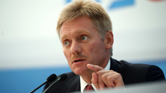 'Russia backs international law, not Assad' – Putin's spokesman