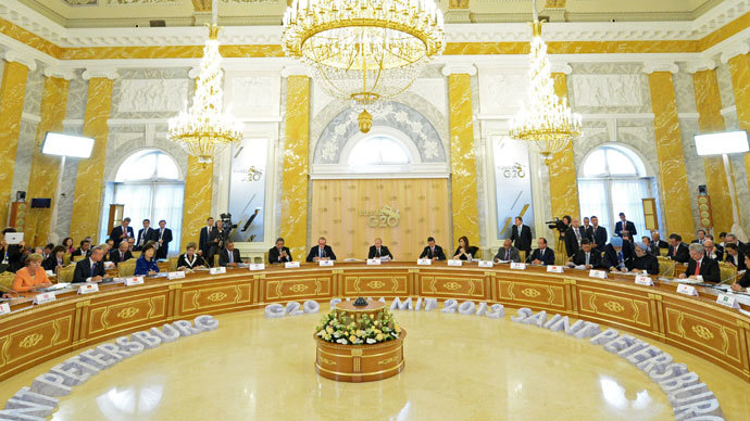 Russia assumes G8 presidency, lays out key agenda