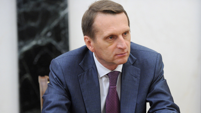 Russian State Duma Chairman Sergey Naryshkin (RIA Novosti)