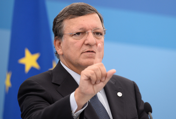 European Commission President Jose Manuel Barroso (AFP Photo / Dimitar Dilkoff)