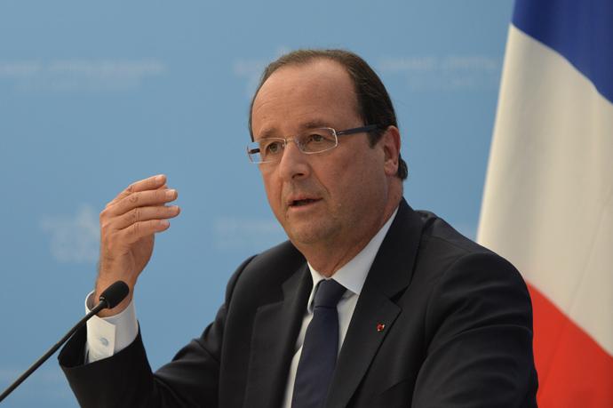 France's President Francois Hollande (AFP Photo / Eric Feferberg)
