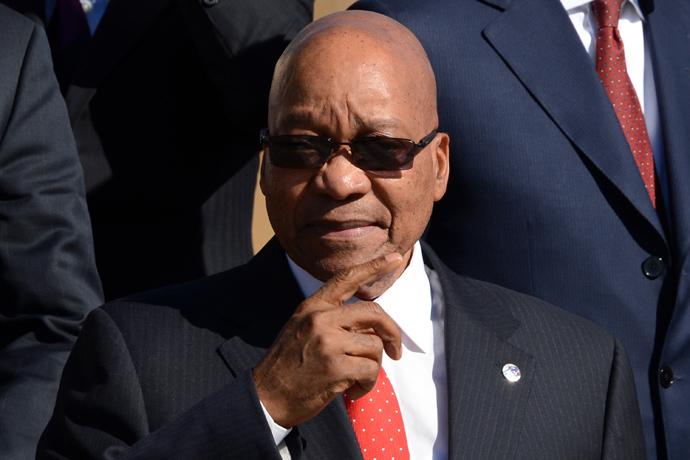 South Africa's President Jacob Zuma (AFP PhotoO / Kirill Kudryavtsev)