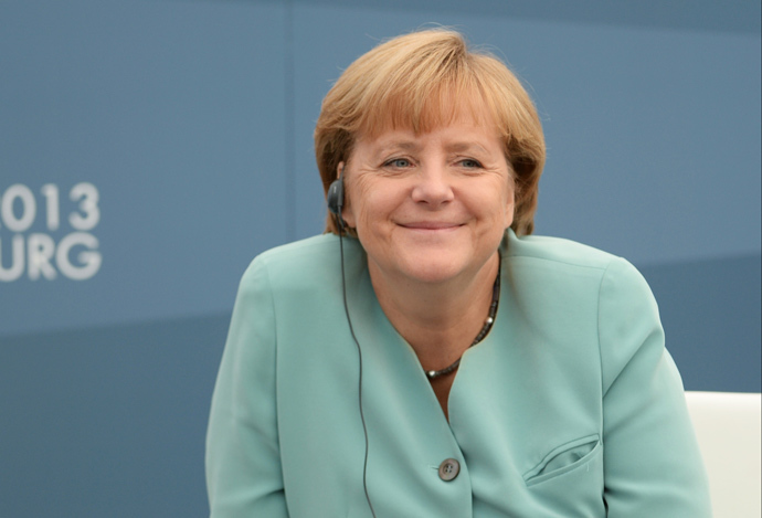 Germany's Chancellor Angela Merkel (AFP Photo / G20RUSSIA)