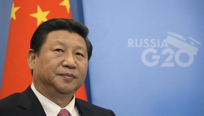 China's President Xi Jinping (AFP Photo / Pool / Alexander Nemenov)