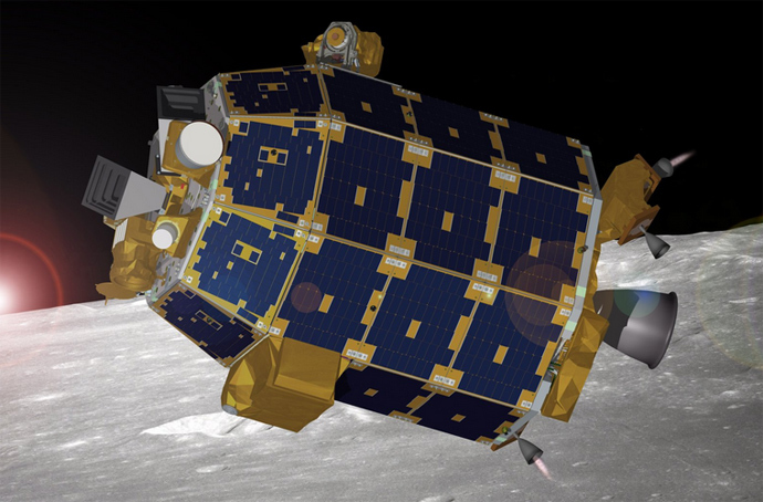 NASA's Lunar Atmosphere and Dust Environment Explorer (LADEE) (Image from nasa.org)