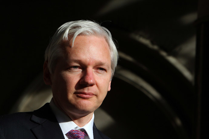 WikiLeaks founder Julian Assang (AFP Photo/Geoff Caddick)
