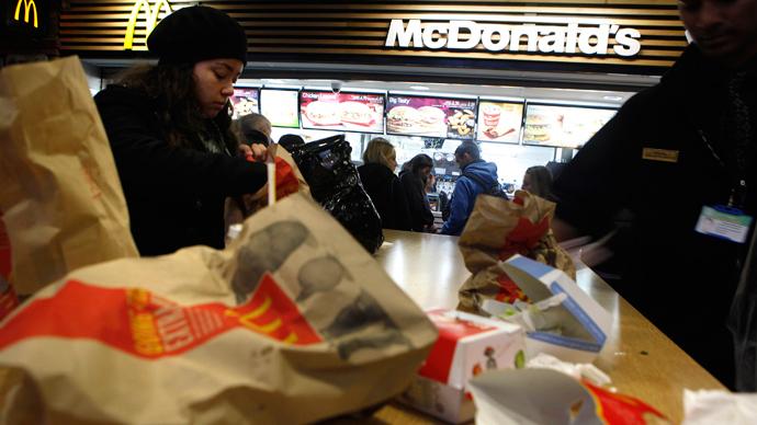 'Globesity': US junk food industry tips global scales