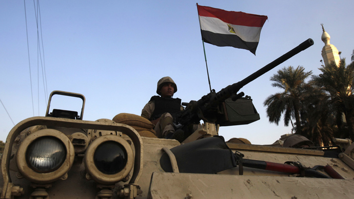Major offensive: Egypt brings tanks and choppers to 'clean' Sinai of militants
