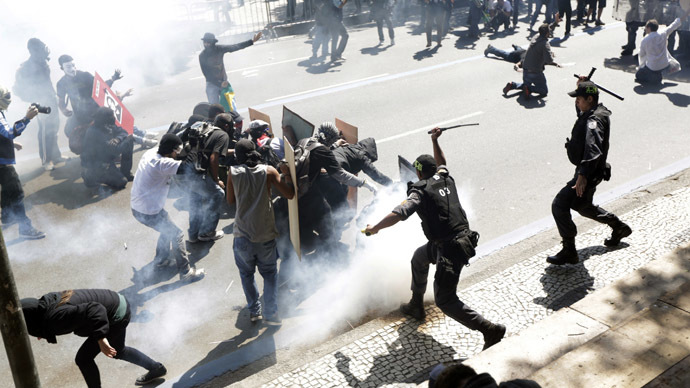 'Sept 7 Op': Brazil protests turn violent as police fire tear gas, rubber bullets