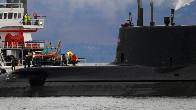 Royal Navy nuclear-powered submarine HMS Astute (Reuters / David Moir)