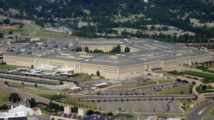 The Pentagon is seen from the air over Washington, DC.(AFP Photo / Saul Loeb)