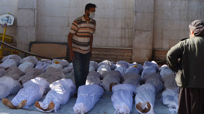 'Syria chemical footage' revealed as pressure mounts within US ahead of vote