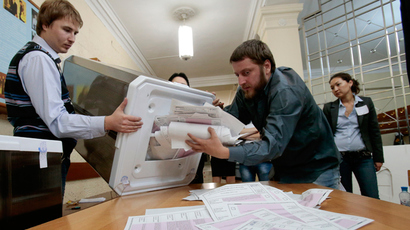 Thousands of Navalny supporters demand vote recount at Moscow mayoral election protest