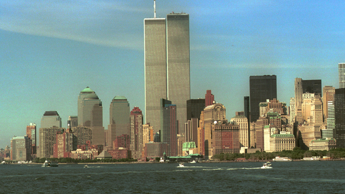 The lower Manhattan skyline is shown in the August 30, 2001 file photo, with the World Trade Center towers at center (Reuters / Enrique Shore)