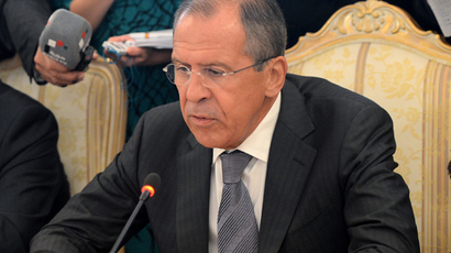 Russia urges Syria hand over chemical weapons to intl control to avoid strike