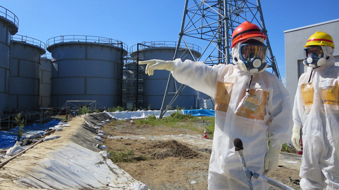 Fukushima tritium levels spike 15-fold in three days