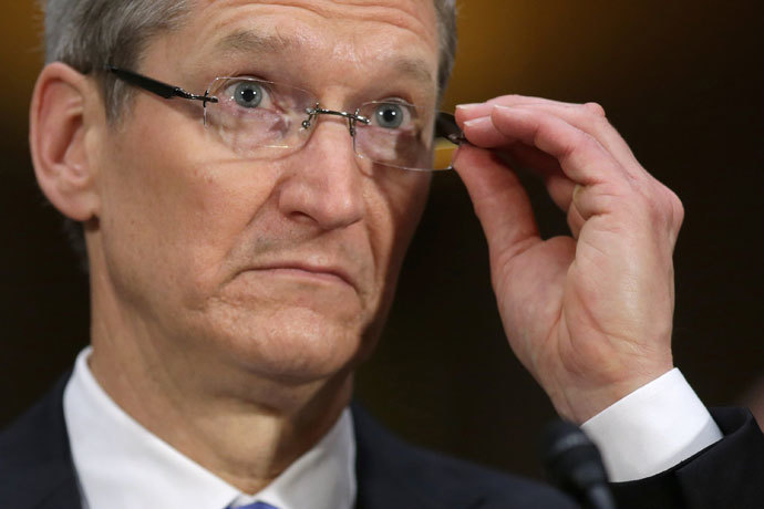 Apple CEO Timothy Cook.(AFP Photo / Chip Somodevilla)
