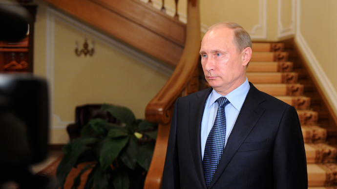 Putin: Syria chem arms handover will work only if US calls off strike