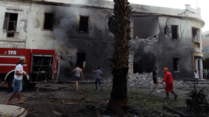 Blast strikes Benghazi 1 year after US consulate bombing