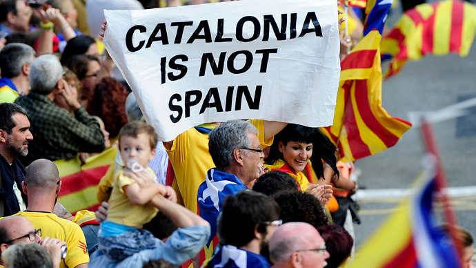Separatist spirit: Catalonia ditches Spanish King's Christmas speech
