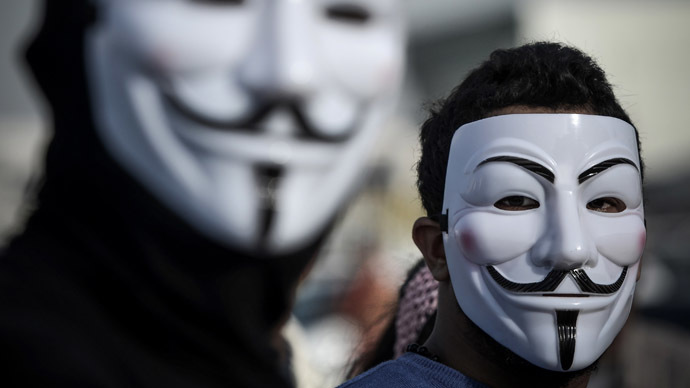 Anonymous member sentenced to three years for hacking police sites