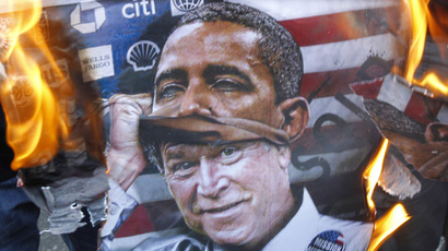 Obama, Congress and political conflict: US govt tops list of Americans' concerns in 2014