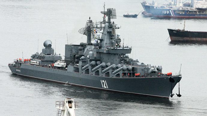 The Moskva missile cruiser (RIA Novosti/Vitaliy Ankov)
