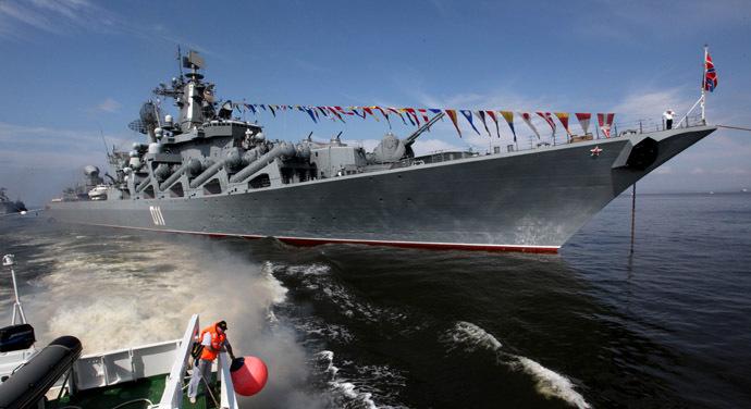 Guided missile cruiser Varyag (RIA Novosti/Vitaliy Ankov)