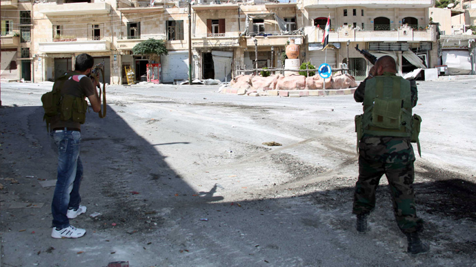 'Invisible, invincible in caves': Syrian army battles rebels in ancient Christian town