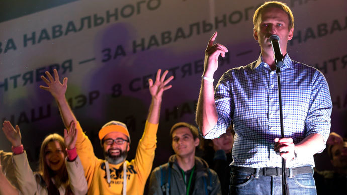 Navalny ready to head unregistered anti-corruption party