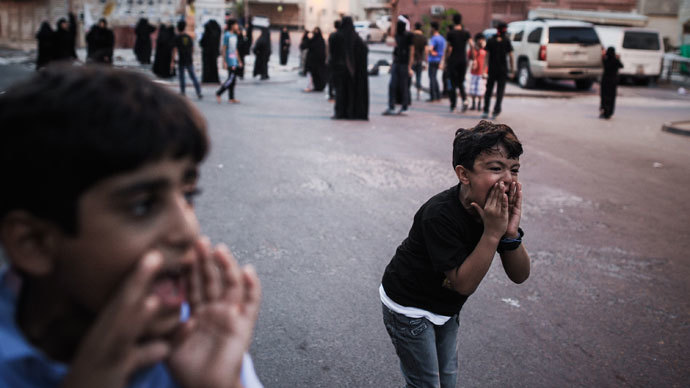 HRW: Bahrain security forces detain, abuse children