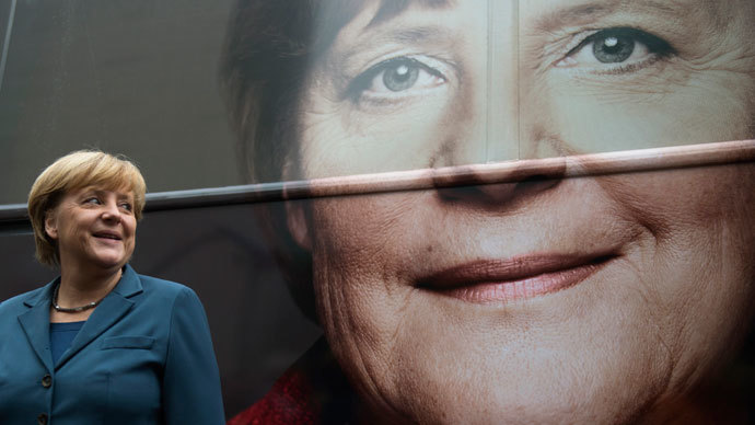 Final countdown: Merkel defends the euro ahead of the election