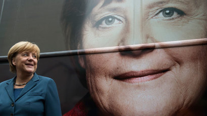Merkel's party wins German election with 41.5%, no absolute majority