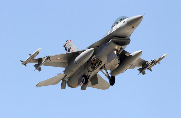 A Turkish F-16 fighter jet (Reuters/Umit Bektas)