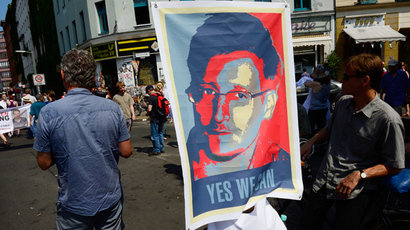 Snowden shortlisted for Sakharov Prize