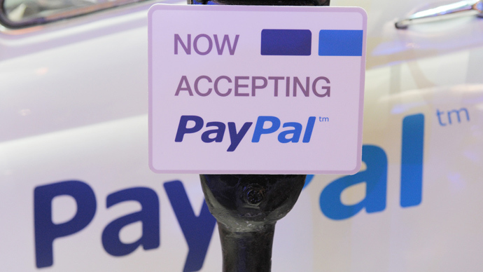 Russian ruble debuts on PayPal