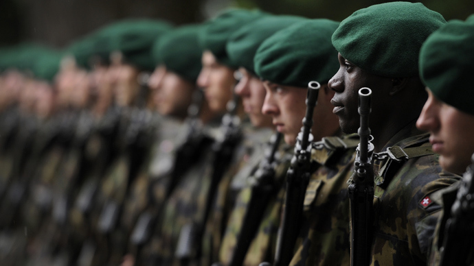 No time to play war? Swiss take obligatory army service to referendum
