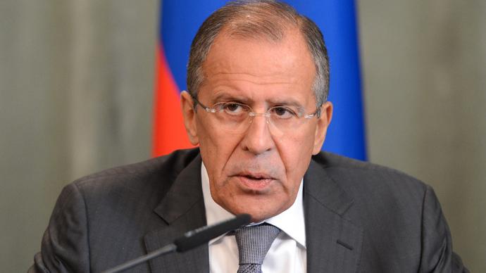 Russian Foreign Minister Sergey Lavrov (RIA Novosti / Mikhail Voskresenskiy)
