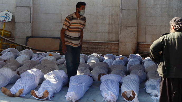 Russia: UN inspectors ignored evidence on Syria chemical attacks