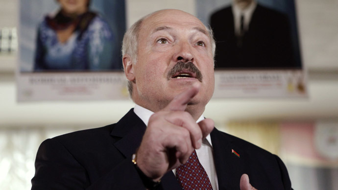 Belarus' President Alexander Lukashenko (Reuters/Sergei Karpukhin)