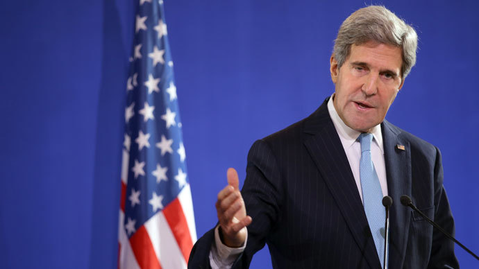 US Secretary of State John Kerry.( AFP Photo / Kenzo Tribouillard)